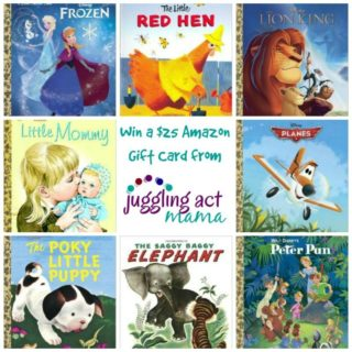 Little Golden Book Sale and Amazon Giveaway from Juggling Act Mama @jugglingactmama