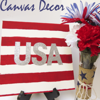 Easy DIY USA Canvas