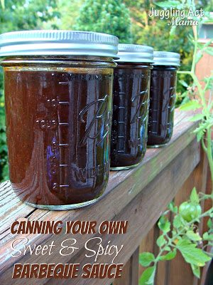 How to can your own BBQ Sauce