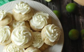 Key Lime Sugar Cookies from Lemons for Lulu