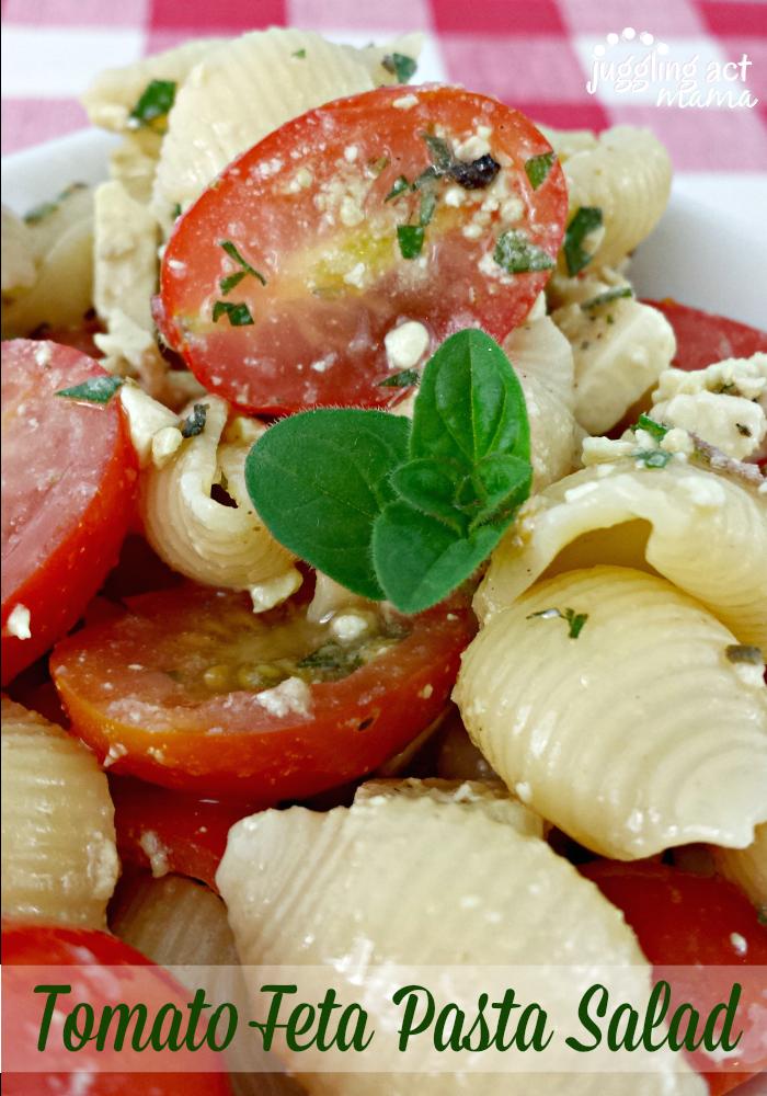 Tomato Feta Pasta Salad1