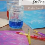 Epsom Salt Painting