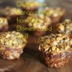 gluten free banana bites