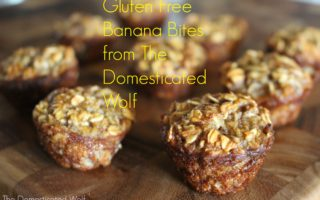 Easy and Homemade Snack or Dessert: Gluten Free Banana Bites
