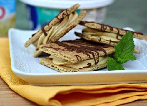 Frozen Peanut Butter Snack Squares