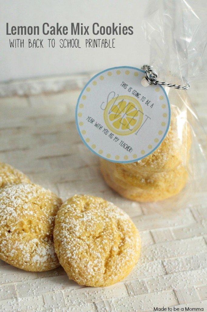 Lemon-Cake-Mix-Cookies Princess Pinky Girl