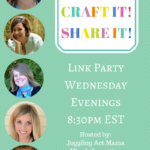 Cook it! Craft it! Share it! Link Party #36