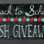 $125 Back to School Cash Giveaway