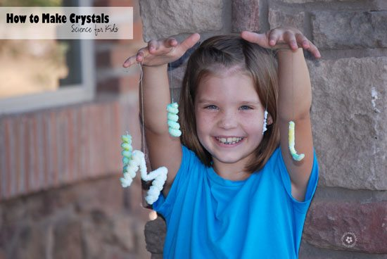 How to Make Crystals {OneCreativeMommy.com}