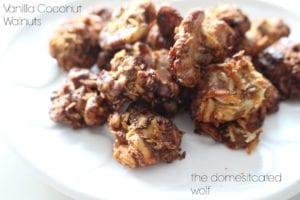 Easy and Delicious Homemade Vanilla Coconut Walnuts
