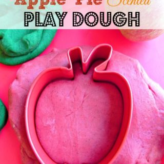 Apple Pie Scented Play Dough by Krafts and Kiddos