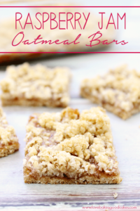 Raspberry Jam Oatmeal Bars