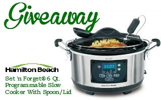 Hamilton Beach Slow Cooker Giveaway