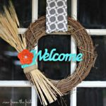 Easy 5 Minute DIY Fall Wreath