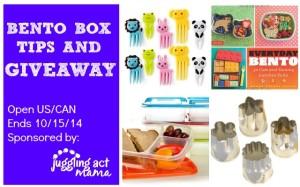 Bento Box Tips and Giveaway