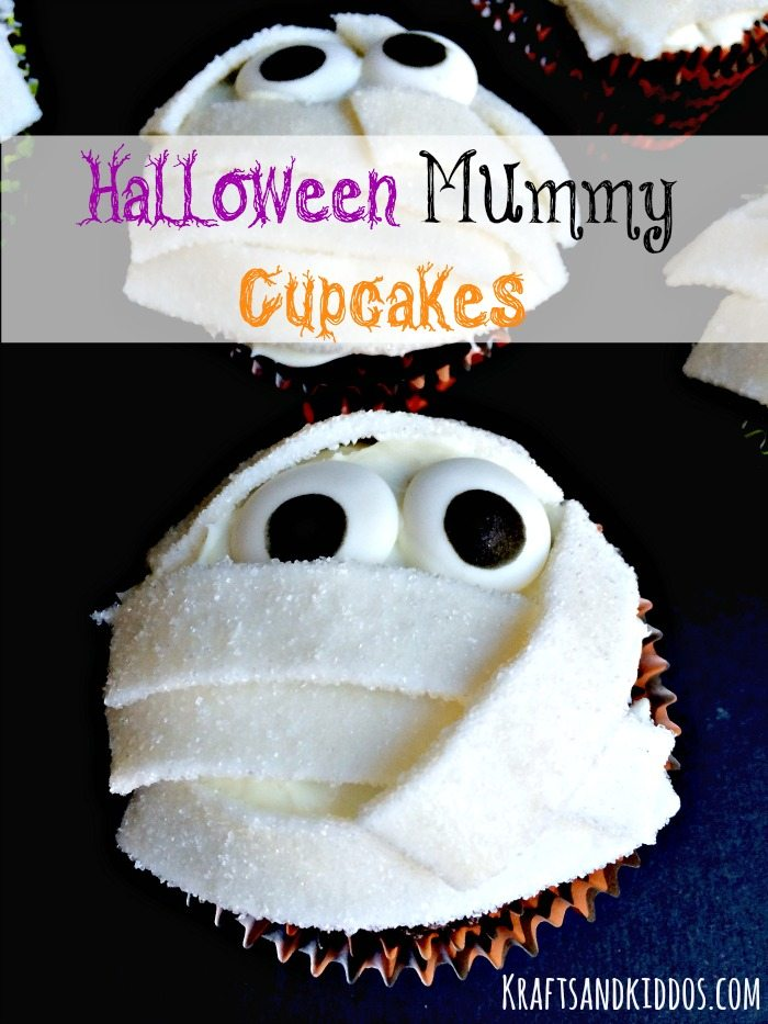 Mummy Cupcakes by Krafts and Kiddos