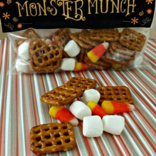 Monster Munch with Printable Bag Topper from Juggling Act Mama