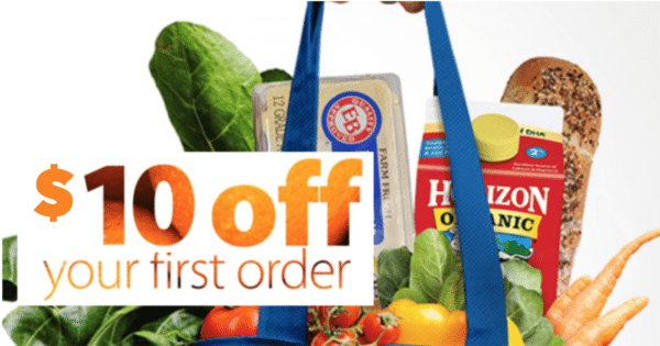 $10 off your first Walmart Grocery Pick Up Order