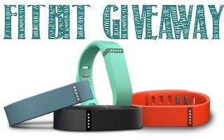 fitbit giveaway button