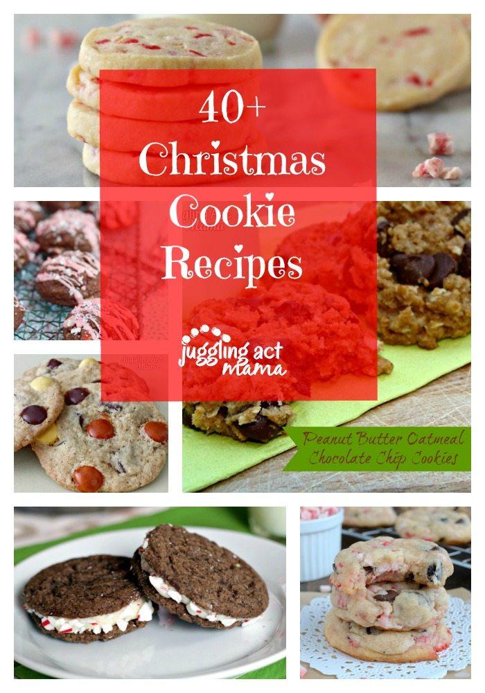 40+ Christmas Cookies via Juggling Act Mama #cookies #christmas