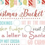 Christmas Bucket List Printable