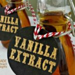 Homemade Vanilla Extract #homemadegifts