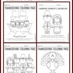 Thanksgiving Coloring Page Collage2