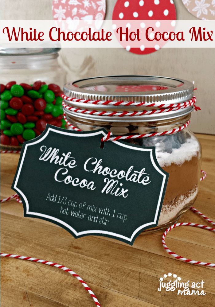 White Chocolate Hot Cocoa Mix