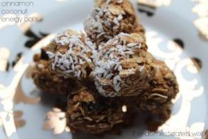 Coconut Cinnamon Balls