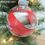 Easy Money Ornament for Gifts