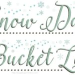 Snow Day Printable Bucket List