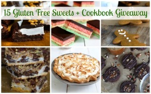 15 Gluten Free Sweets + Cookbook Giveaway