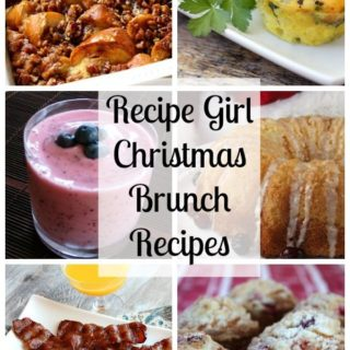 Christmas Day Brunch + Recipe Girl Giveaway