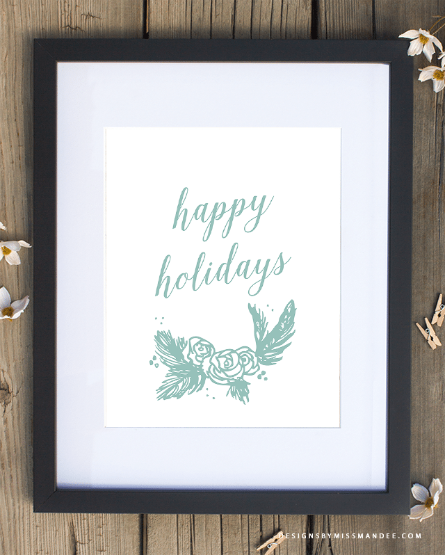 Festive Holiday Prints
