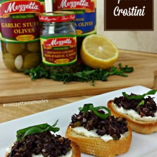 Mezzetta Holiday Recipes - Olive Tapenade Crostini
