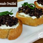 Mezzetta Holiday Recipes – Olive Tapanede Crostini