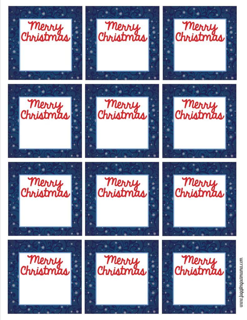 Free printable Mini Gift Tags