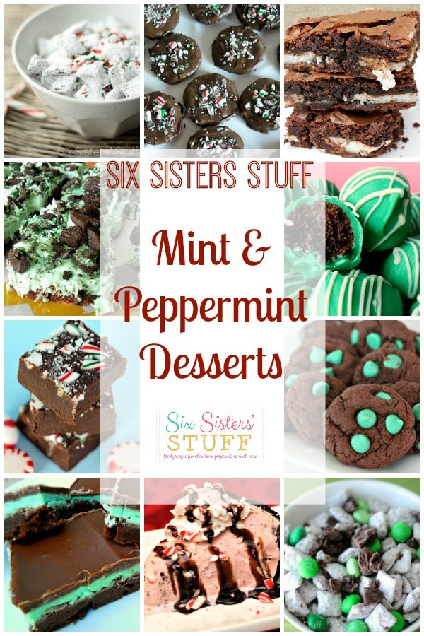 Mouthwatering Mint & Peppermint Desserts + Giveaway