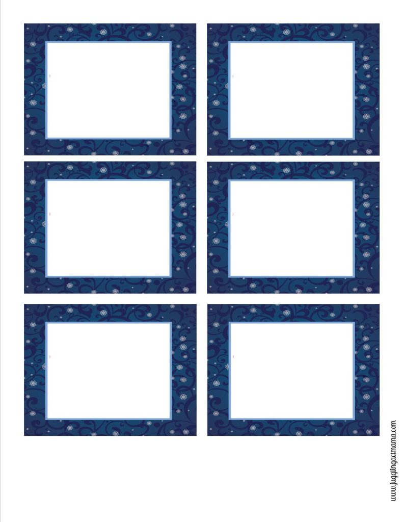 Holday Shipping Labels or Blank Gift Tags