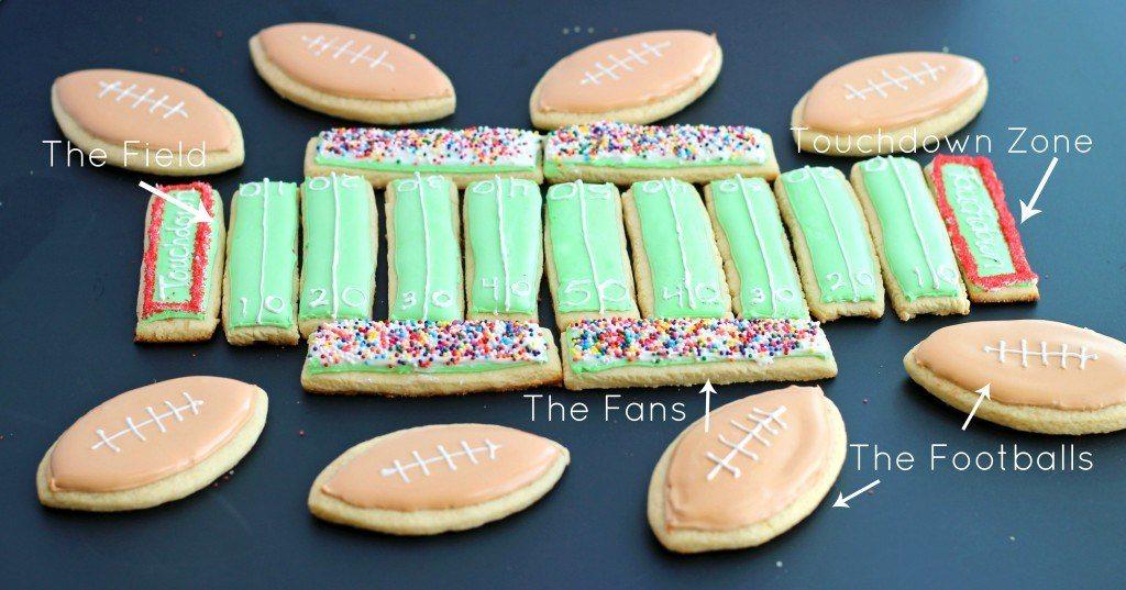 Sugar Cookie Football Stadium