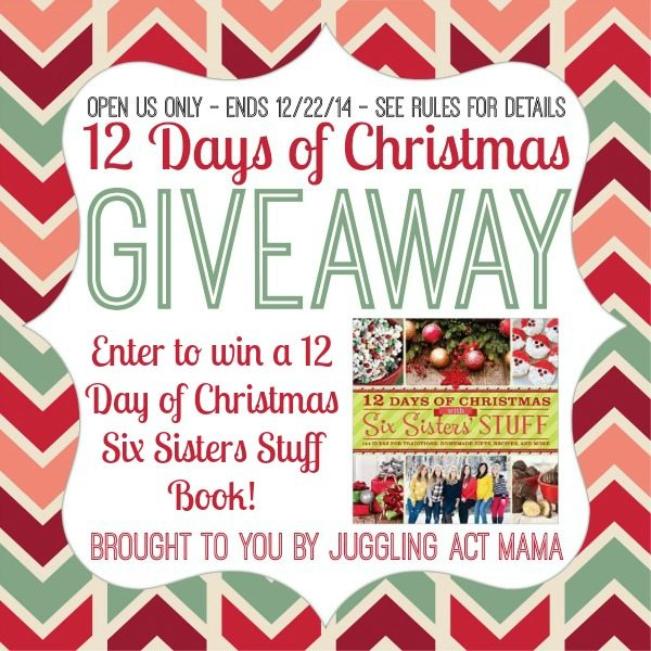 Enter to win a cookbook from Six Sisters Stuff!