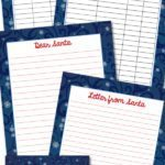 Snowflake Holiday Planner Set