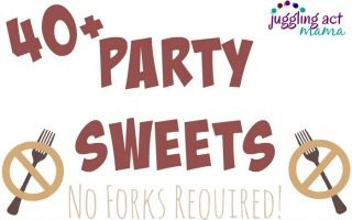 40+ Football Party Sweets