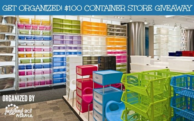 CONTAINER STORE GIVEAWAY