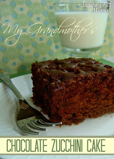 My Grandmothers Chocolate Zucchini Cake