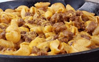 Quick Cheesy Taco Shell Skillet #castironskillet