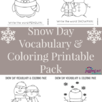 Snow Day Printable Pack