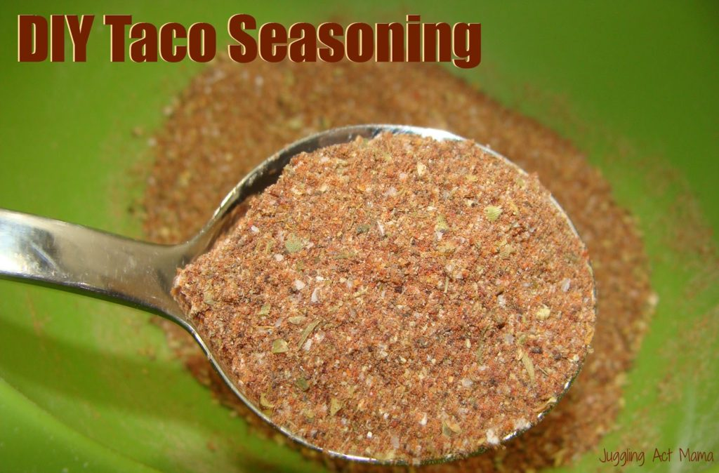 DIY Taco Seasoning Mix