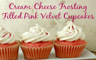 Pint Velvet Cupcakes + Valentine's Day Printables