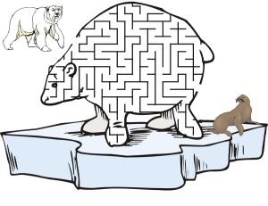 Polar Bear Maze